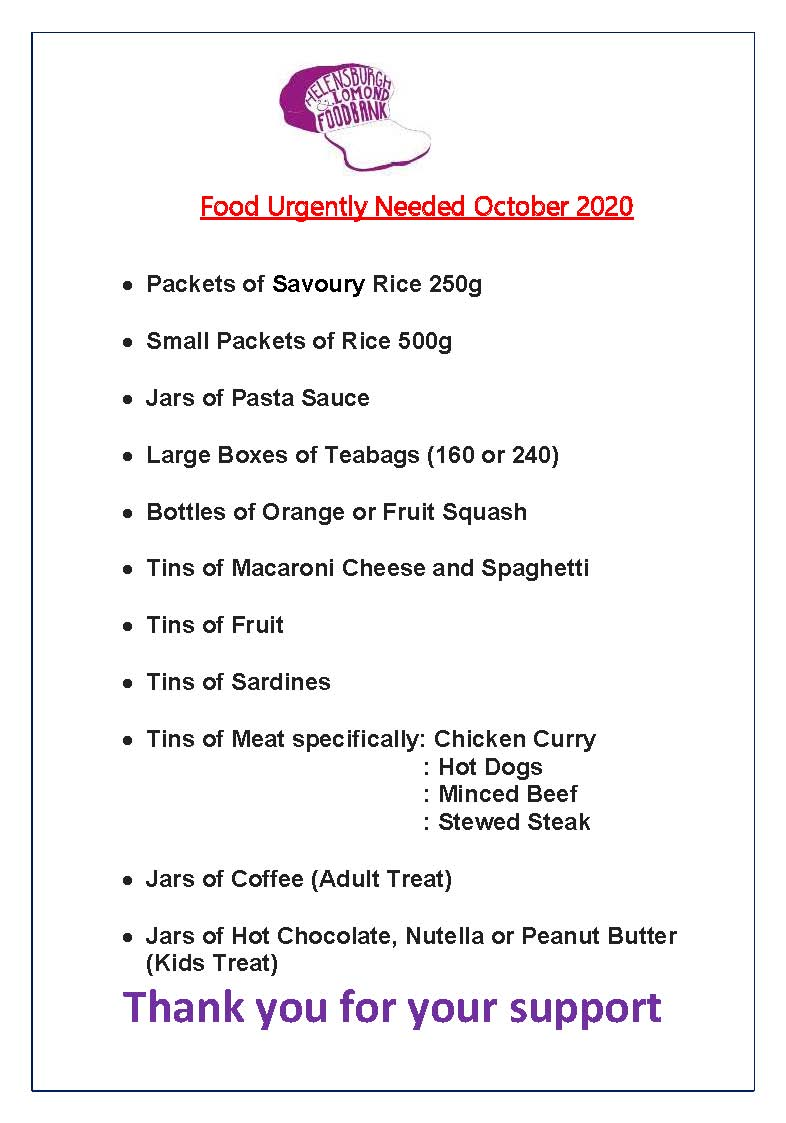 Food Needed - October 2020 JPG